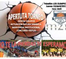 Monzón acoge el VI Torneo Zarabasket en categoría Infantil y Alevín
