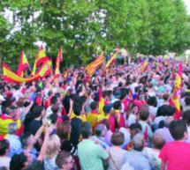 Monzón muestra su apoyo a la Guardia Civil y la Policía Nacional