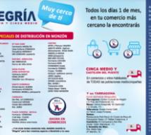 «Alegría de Monzón y Cinca Medio», ahora en comercios