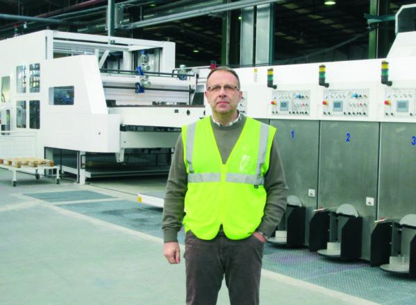 Europac pone en marcha una nueva línea de producción en Alcolea