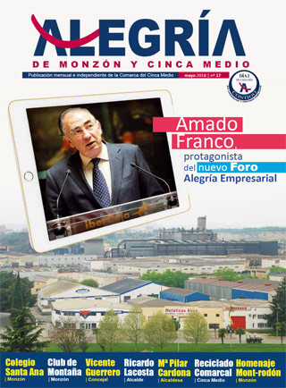 Alegria de Monzon Mayo 2018