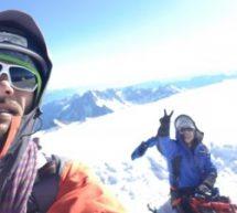 """""""Los Vilalta"""" coronan el Mont-Blanc acompañados de """"Alegría"""""""